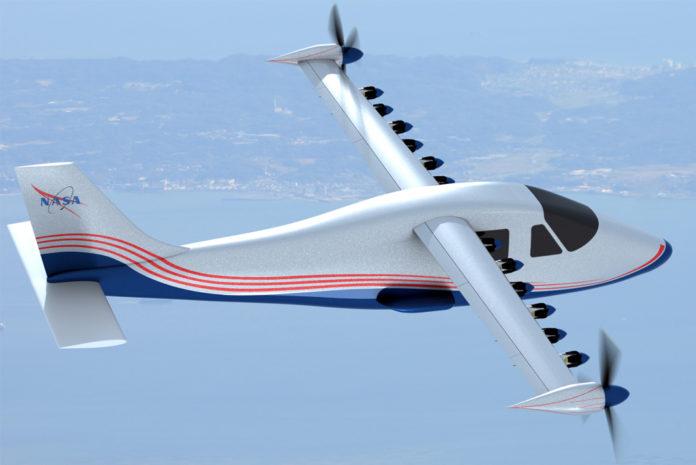 NASA X-57 Maxwell electric plane