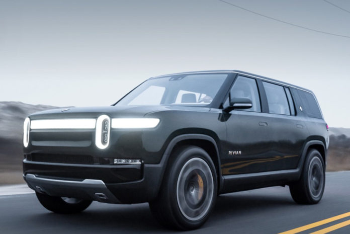 rivian r1s electric suv