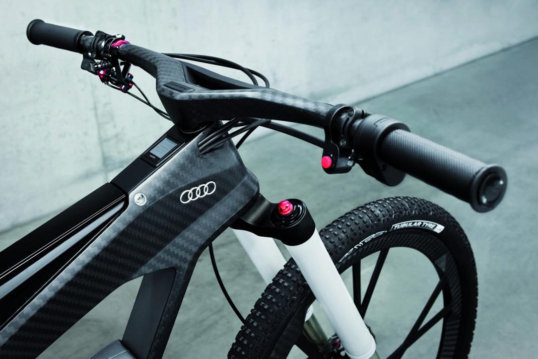 audi e-bike front