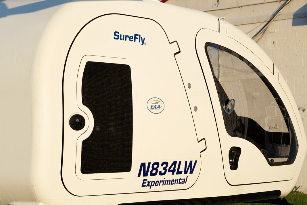 surefly hybrid helicopter cabin