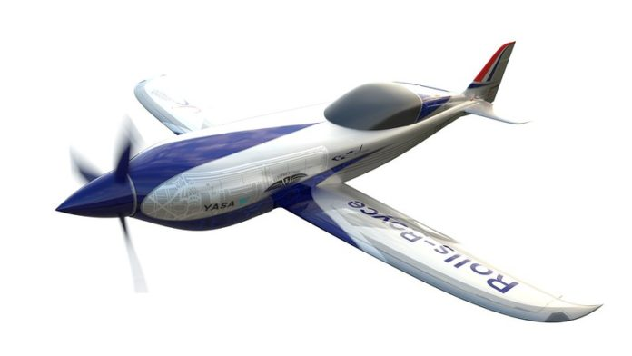 Rolls-Royce ACCEL electric airplane
