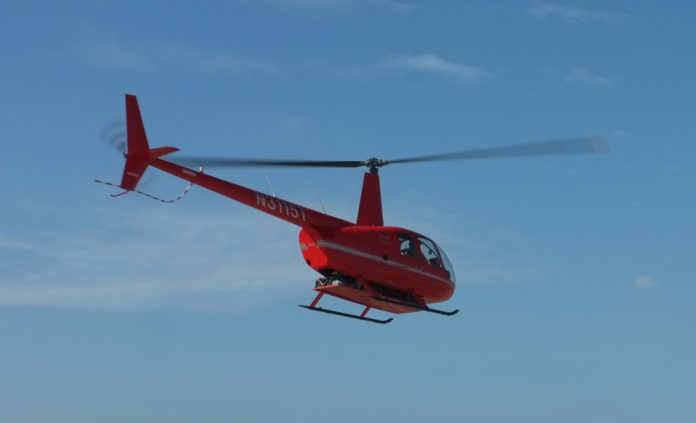 R44 Electric Helicopter
