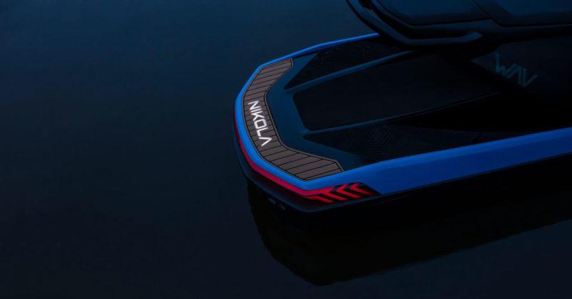 nikola wav electric jet ski rear