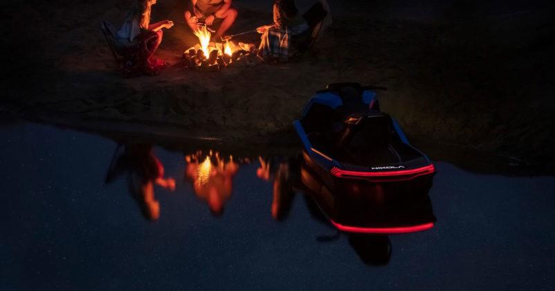nikola wav electric jet ski rear lights