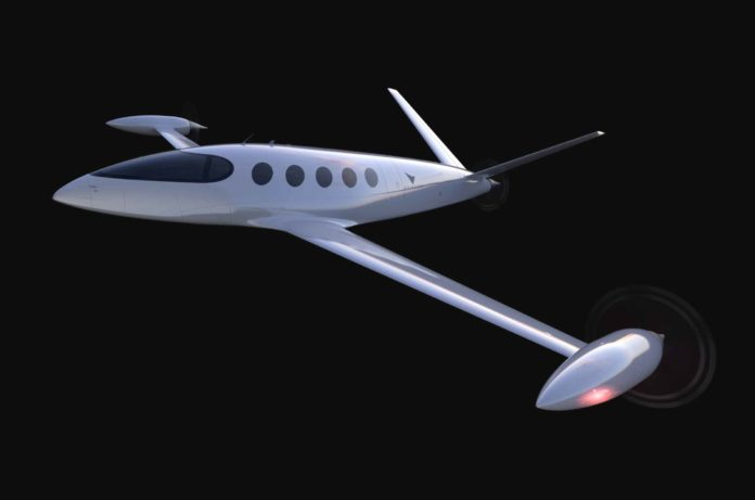 Eviation Alice all-electric aircraft
