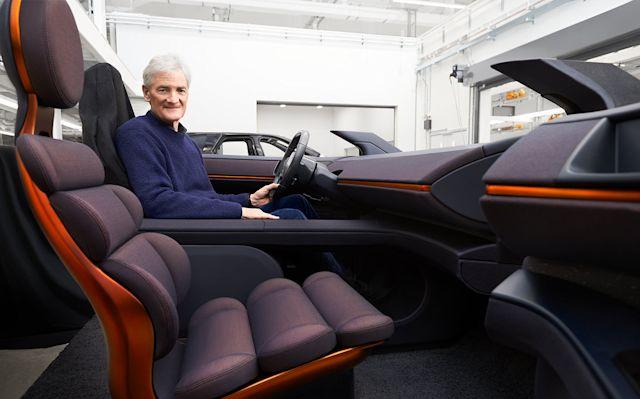 Dyson Electric Car Interior