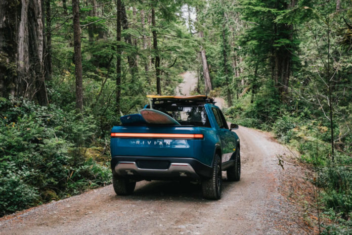 Electric automaker Rivian